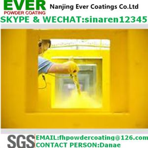 Electrostatically Spray Matt Epoxy Powder Coating pictures & photos