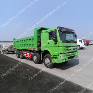 Intelligent 12 Wheels Dump/Tipper Truck HOWO A7 in Philippines pictures & photos