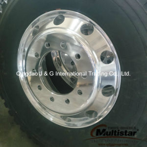 Truck Tyre 11r22.5 with Alloy Truck Rim 22.5X8.25 Assembly Tyre pictures & photos