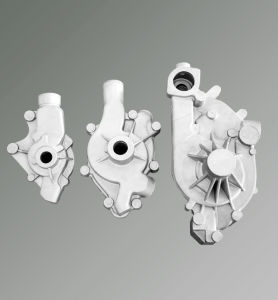 Casting Aluminum Valve Body for Auto Water Pump pictures & photos