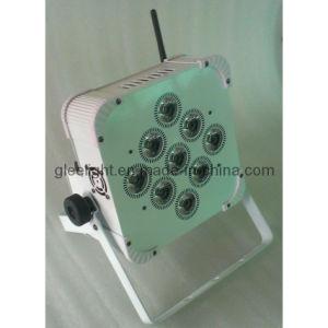 9X12W RGBWA&UV 6in1 Battery Power & Wireless DMX PAR / Hex LED Slim Flat Thin Uplighting