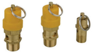Pneumatic Safety Valve for Air Compressor-Red/Yellow Cap pictures & photos