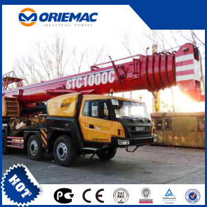 Sany Stc1000 100 Ton Mobile Crane Truck Crane for Sale pictures & photos