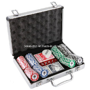 200PCS Poker Chip Set in Round Corner Real Aluminum Case (SY-S72) pictures & photos