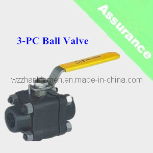 Forged Steel 3-PC Ball Valve (Q41F)