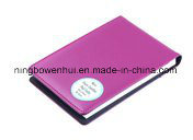 Mini Faux Leather Pad Folio with Elastic Pen Holder pictures & photos