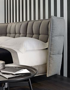 Nordic Simple Nordic Cloth Art Bed Home Furniture pictures & photos