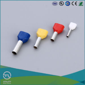 Utl Electrical Te Type Insulated Cold End Terminal Crewel Copper Tube Terminal pictures & photos