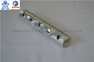 Aluminum Foil Laminated Fiberglass Sleeve with Hook-and-Loop Fastener pictures & photos