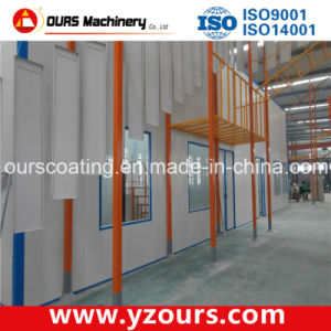 Hot-Sale Electrostatic Powder Coating Line for Aluminium Profiles pictures & photos