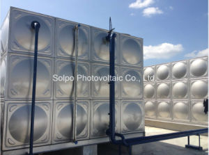 Stainless Steel Potable Water Storage Tank for Schools
