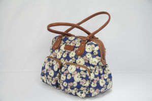 fashion Canvas Handbag for Lady Outdoor pictures & photos