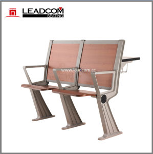 Leadcom Lecture Hall Attached School Desk and Chair Ls-928mf pictures & photos