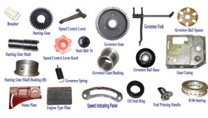 Spare Parts of Single Diesel Engine-Gear Casing Sets pictures & photos