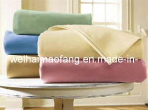50%Wool/50%Polyester Blend Woven Woollen Hotel Blanket pictures & photos