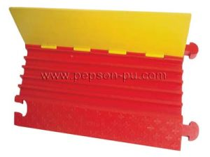 Line Modules PU Cable Protector, Temporary Structured Cabling System pictures & photos