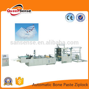 Plastic Zipper Bag with Attachment Making Machine pictures & photos