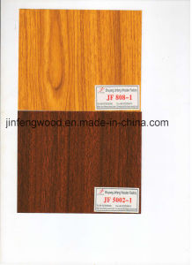 Popular Sapele and Teak Color for Melamine MDF pictures & photos