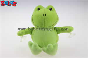 Competitive Price Custom Plush Green Frog Animal Toys with Plastic Suction Cups Bos1138 pictures & photos