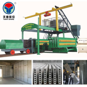 Gypsum Hollow Core Wall Panel Production Line/ Wall Panel Making Machine pictures & photos