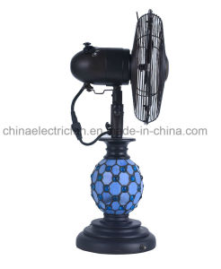 10 Inch Resin Decor Table Fan& Gift Fan pictures & photos