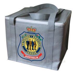 Grey Non Woven Insulated Cooler Bag (hbnb-523) pictures & photos