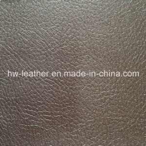 High Quality Decorative PVC Leather (HW-1245) pictures & photos