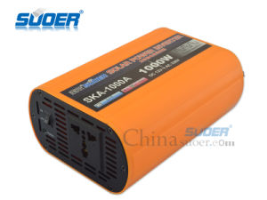 Suoer 1000W DC to AC 12V 220V Solar Power Inverter with CE&RoHS (SKA-1000A) pictures & photos