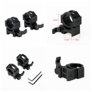 Tactical Compact Hunting Quick Released Ring Scope Mount Cl24-0139 pictures & photos