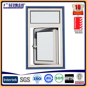 Aluminum Outward Open Window with Grill pictures & photos