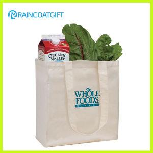 Eco-Friendly Grocery 100%Cotton Bag Rbc-088 pictures & photos
