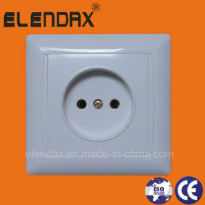European Style Flush Mounted 2 Pin Socket Outlet (F6009) pictures & photos