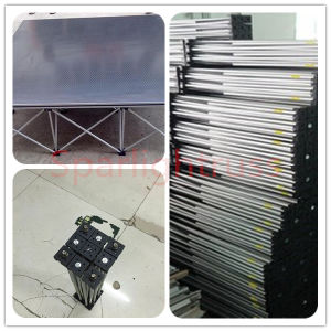 2016 High Quality Portable Aluminum Wooden Stage for Concert pictures & photos