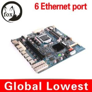 6 LAN Mainboard 6 LAN Motherboard 6 LAN Firewall Board Router Board Fan and DC 12V Motherboard pictures & photos