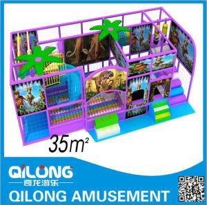 Cartoon Character Design Indoor Playground (QL-1124K) pictures & photos