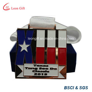 Promotion Cheap Custom Metal Sport Medals with Ribbon pictures & photos
