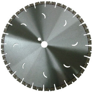 Laser Welded Diamond Circular Saw Blade for Reinforced Concrete pictures & photos