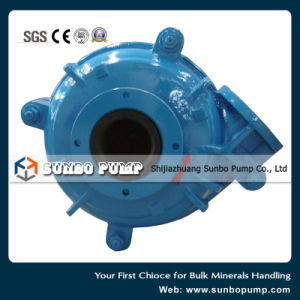 High Quality Resistant Rubber Centrifugal Slurry Pump pictures & photos