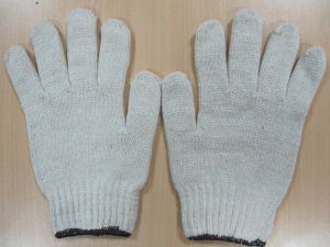 60g Natural White Glove Glove Liners Cotton pictures & photos