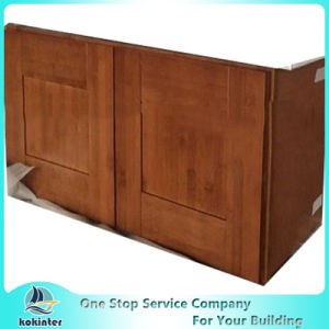 American Style Kitchen Cabinet Bamboo Shaker W3012 pictures & photos