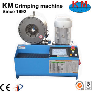 Equal to Finn-Power Hydraulic Hose Assembly Machine Km-91h pictures & photos