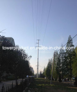 Megatro Power Transmission Line Steel Utility Pole (MGP-SUP07) pictures & photos