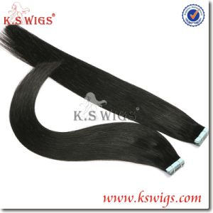 Double Drawn Tape Hair Virgin Remy Hair Extension pictures & photos
