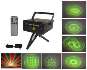 Multi-Patterns Mini Laser Stage Lighting with Remote Controller (XL-SL-101)