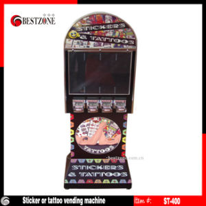 Sticker or or Card Orticket or Tattoo Vending Machine (ST-400) pictures & photos