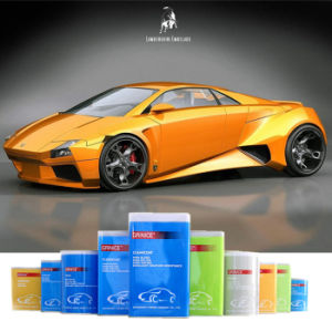 Factory Price OEM Support Yellow Crystal Pearl 1k Car Coating pictures & photos