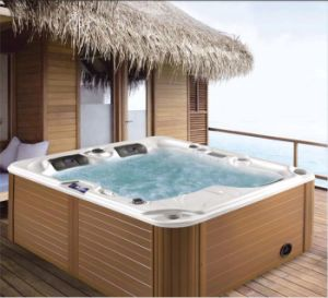 Garden Mini 3 Persons Home Whirlpool SPA Bathtub (Ares) pictures & photos