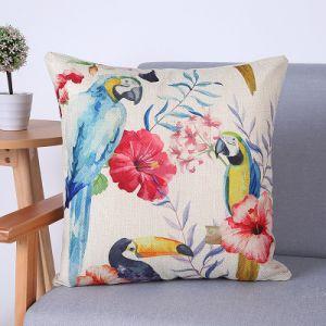 Digital Print Decorative Cushion/Pillow with Birds Pattern (MX-69C) pictures & photos