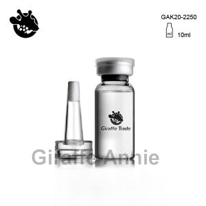 10ml Antibiotic Glass Bottle with PVC Dropper