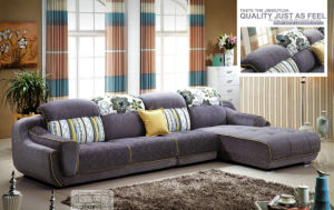 Warm Feeling High Quality Fabric Sofa 2192A pictures & photos